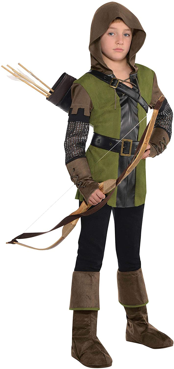 amscan Prince of Thieves Robin Hood Halloween Costume for Boys with Included Accessories