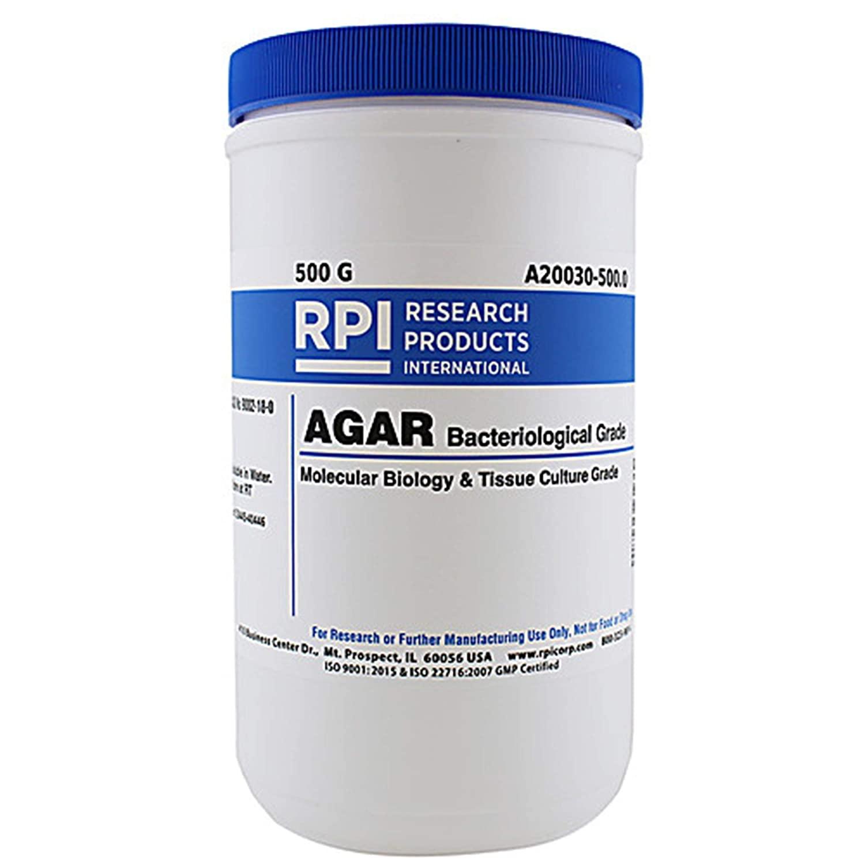 RPI A20030-5000.0 Agar, Bacteriological Grade, 5kg
