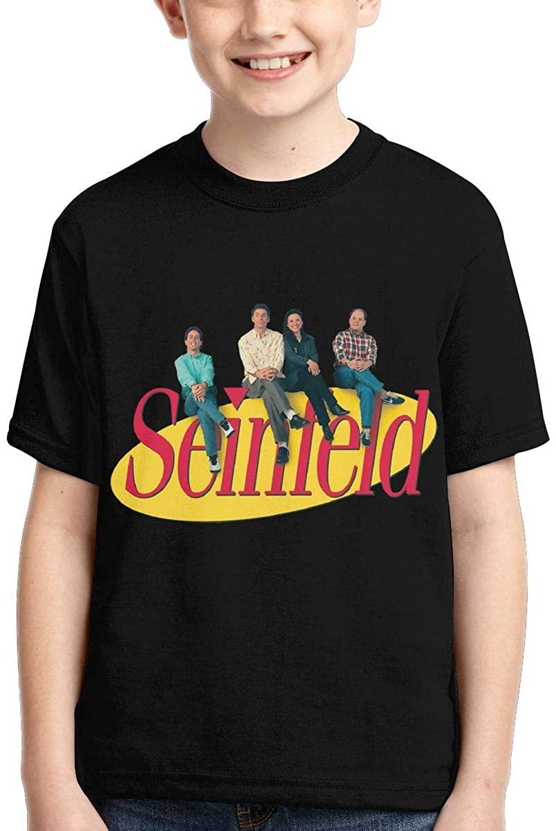 Suwei Boys,Girls,Youth Seinfeld Tee