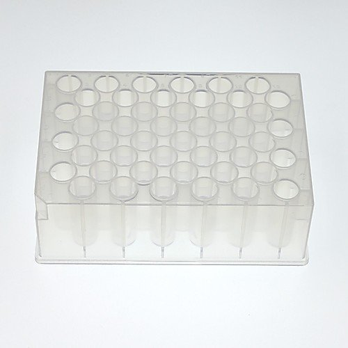 NEST Scientific 504002 Deep Well Plate, U-Bottom, Square, Non-Sterile, 48 Well, 4.6mL Volume (Pack of 50)