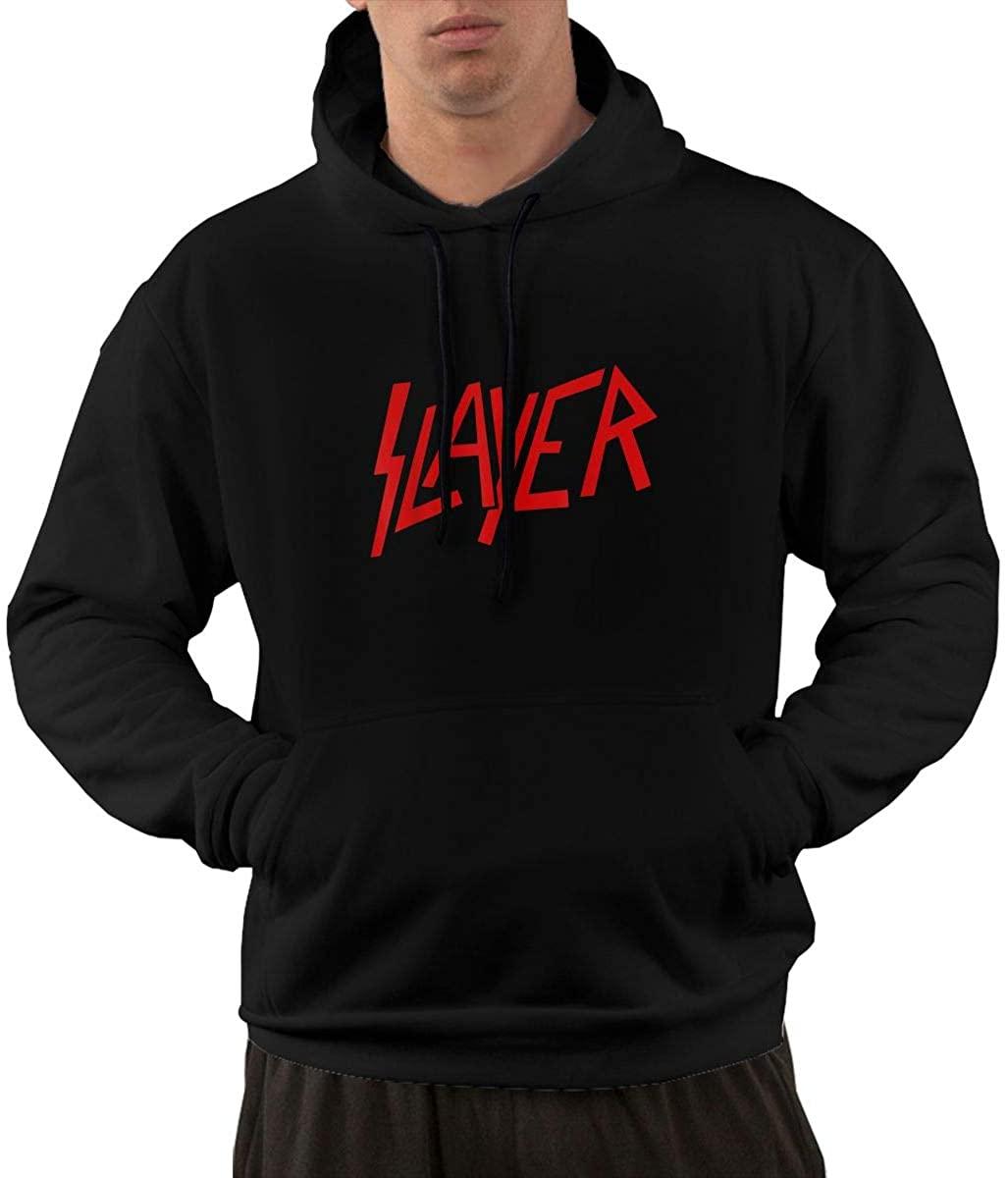 Fanniemo Menâ€sslayer Cotton Heavyweight Pullover Hoodie Sweatshirt