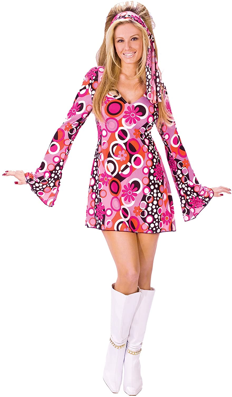 Feelin Groovy Disco Dress Costume