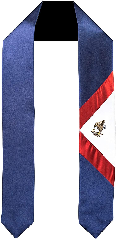 American Samoa Flag Graduation Sash/Stole International Study Abroad Adult