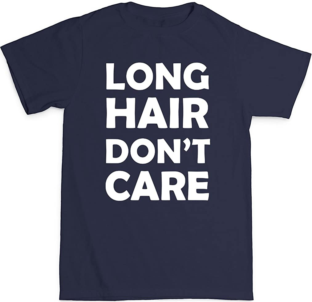 Trunk Candy Toddler Long Hair Don't Care Premium 100% Cotton T-Shirt