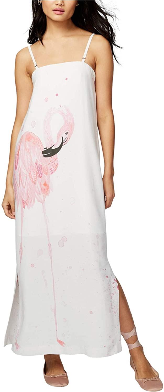 Rachel Roy Convertible Flamingo Graphic Maxi Dress