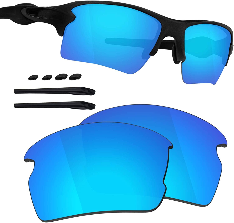 Guarda TRUE POLARIZED Replacement Lenses & Kit for Oakley Flak 2.0 XL OO9188 Sunglasses