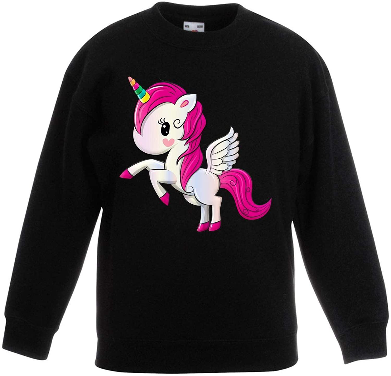 Cartoon Unicorn Fantasy Animals Children's Toddler Kids Sweatshirt Jumper