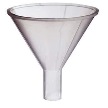 Scienceware 14660-0080 Polypropylene Powder Funnel, 125 mL