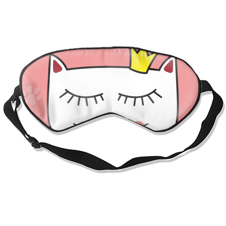 Little Cute Cat Princess Sleep Mask Mulberry Silk Eye Mask