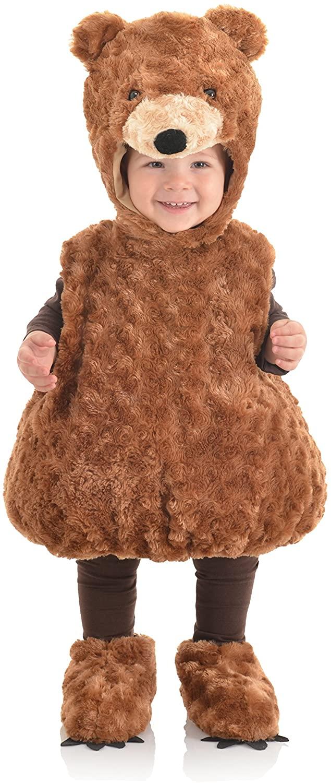 Underwraps Toddler's Teddy Bear Belly Babies Costume