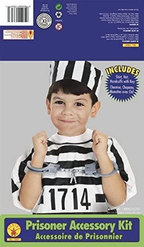Rubie's Costume Child's Convict/Prisoner Dress-Up Kit