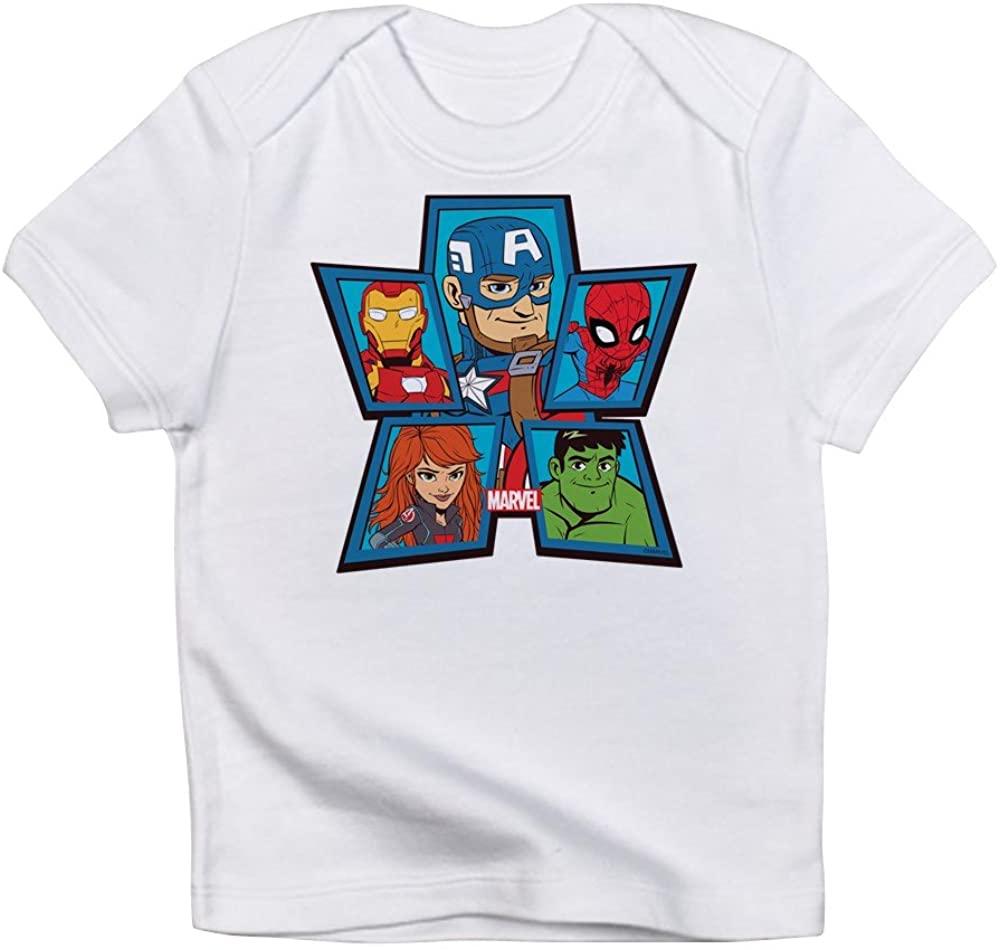 CafePress Marvel Avengers Portraits Baby T-Shirt