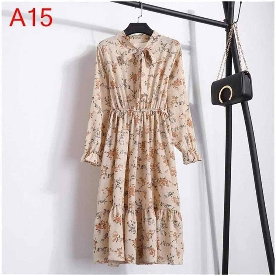 Without logo DSJTCH Women's Clothing Dresses Maternity Girls' Erotic Dresses, Clothing, Women Sleeveless Dress Sexy Party Casual Autumn Korean Style Shirt Long Sleeve Summer (Color : A15, Size : M)