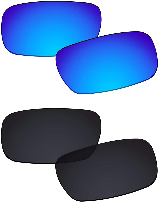 Galvanic Replacement Lenses for Oakley Crankshaft OO9239 Sunglasses - Multiple Choices