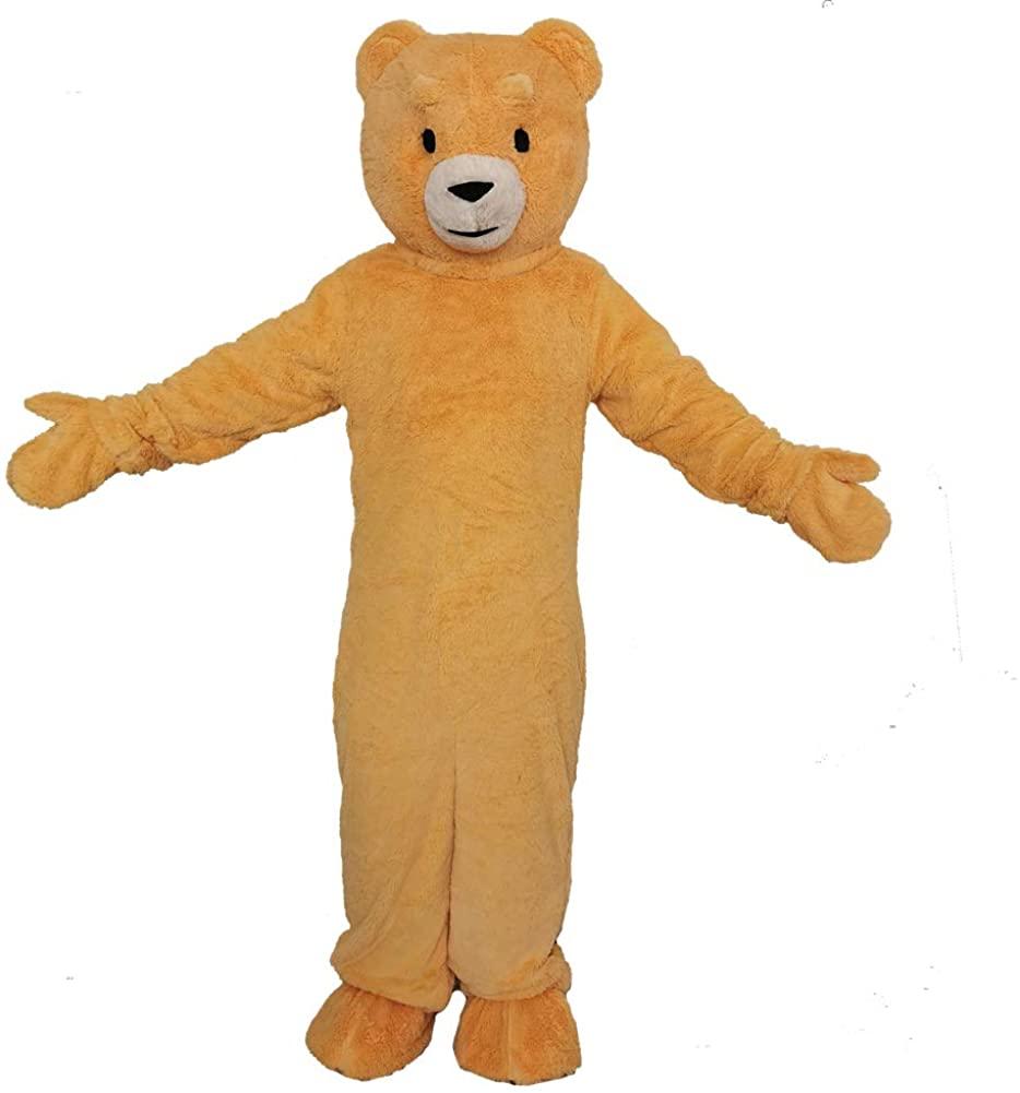 MatGui Halloween Party Teddy Bear Mascot Costumes Adult Cartoon Costumes