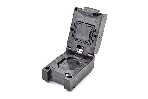 ALLSOCKET NAND Programming BGA Socket,[BGA854,0.4MM Pitch]0.4mm Pitch Full Pins Customized IC Socket BGA Package Burn-in Adapter