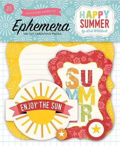 Echo Park Paper Company Happy Summer Ephemera