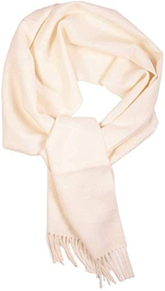 100% Baby Alpaca scarf off white colour