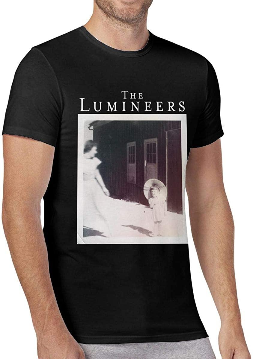 Muindancer The Lumineers Men's O-Neck Short Sleeve T Shirts Sports Shirts