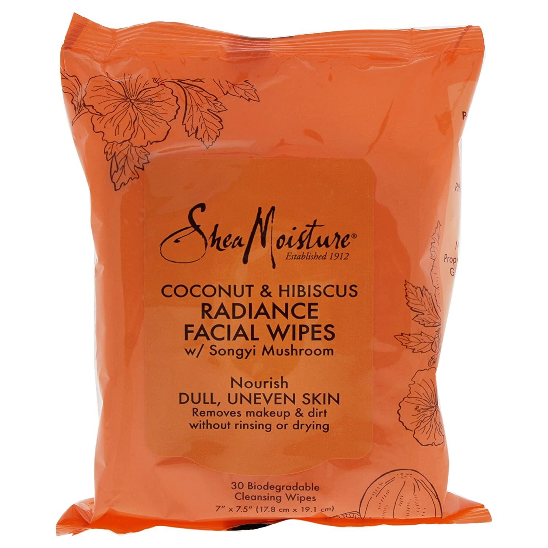 Shea Moisture Coconut & Hibiscus Facial Wipes