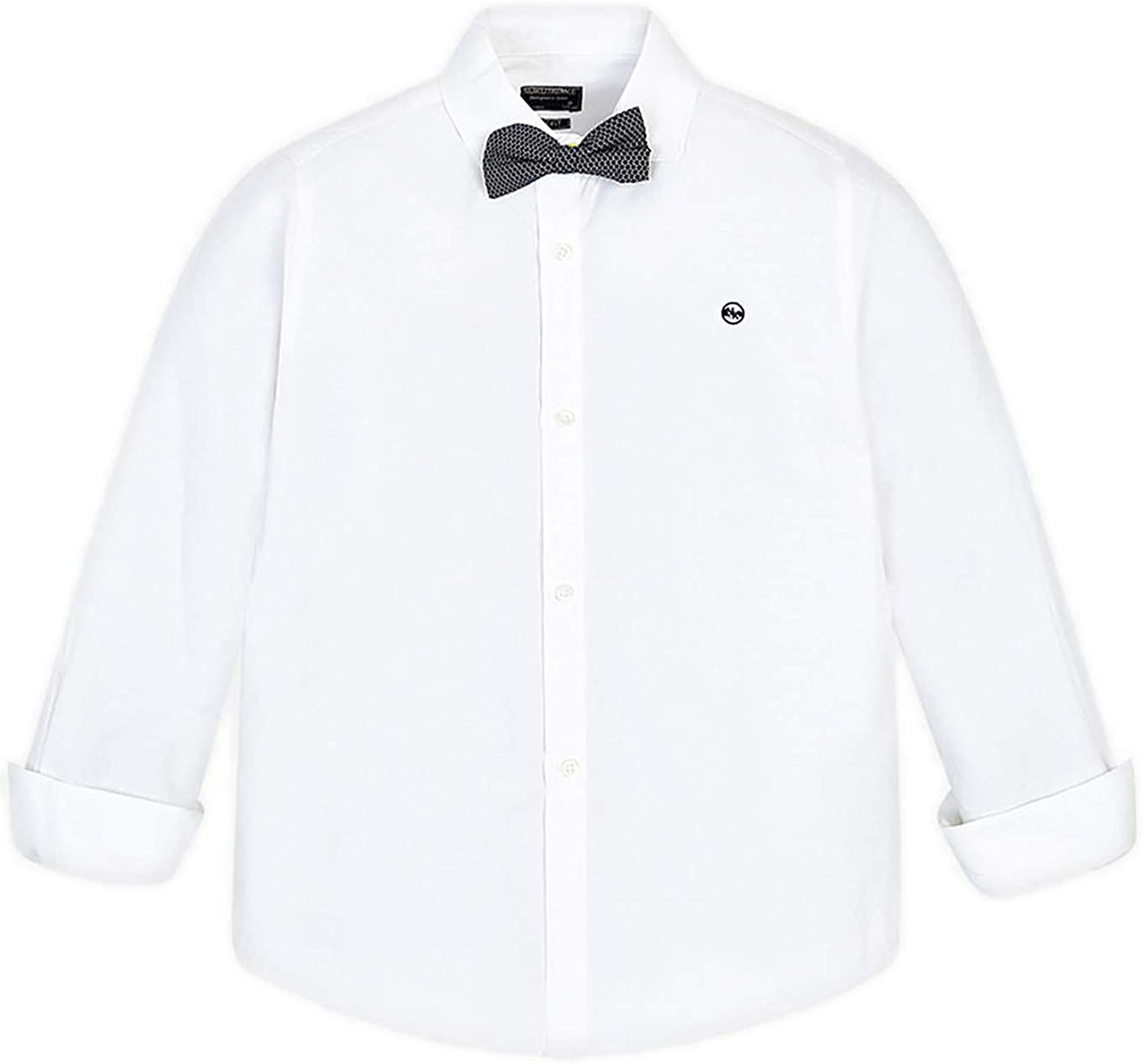 Mayoral - L/s Shirt for Boys - 6131, White
