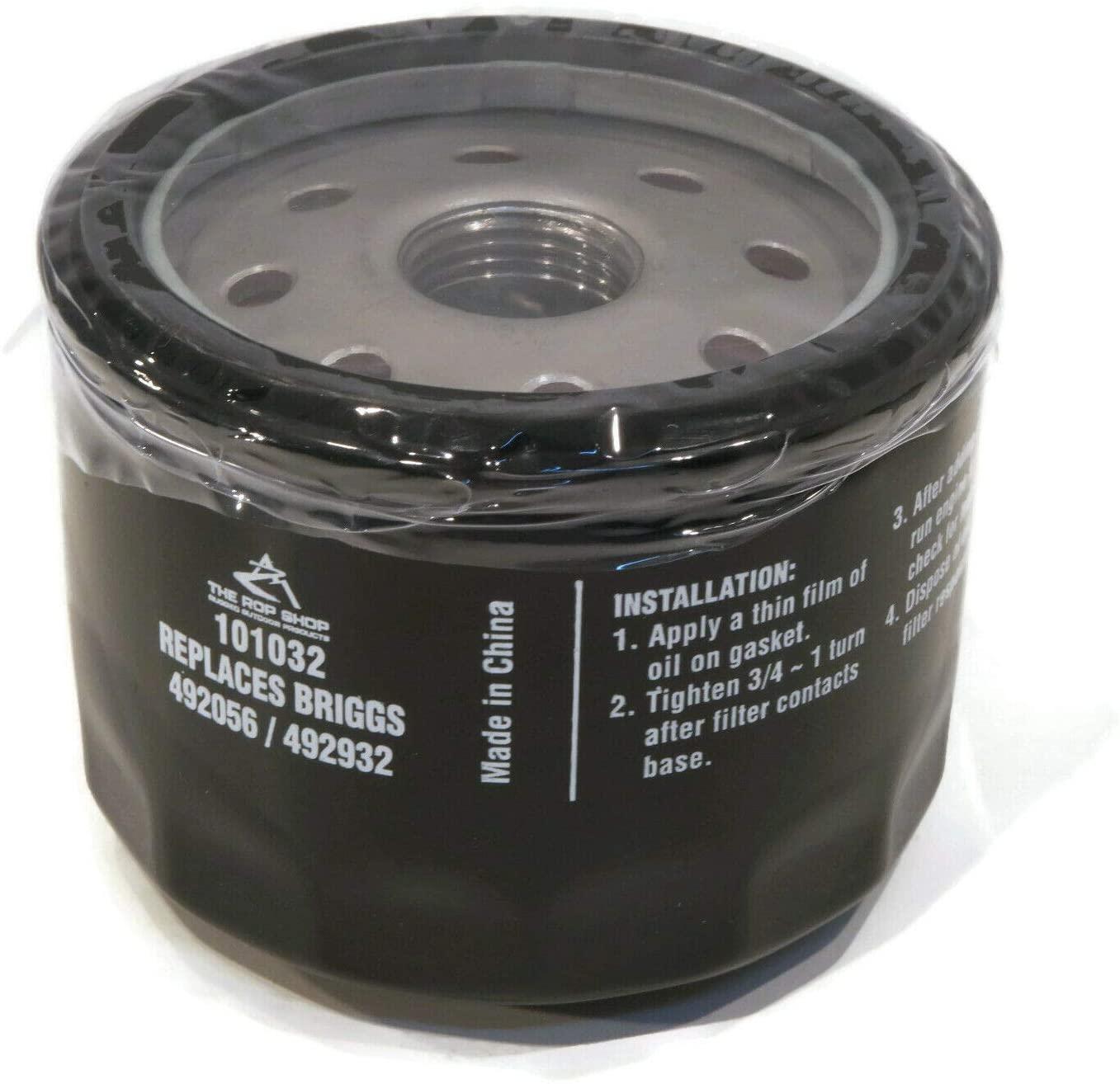 PartsBlast Oil Filter for Briggs & Stratton 492056 5049 5076 - 2 Pack