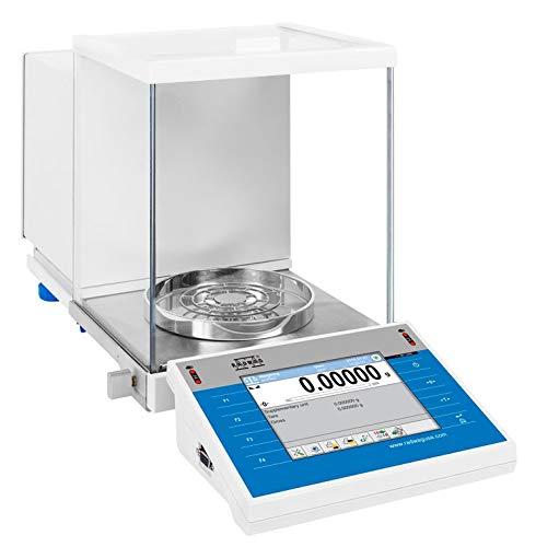 Radwag XA 82/220.4Y.A.B, Semi-Micro Analytical Balance, Dual Range, 82g/220g x 0.01 mg/0.1 mg, Automatic Door, Wireless Indicator, Full Color 5.7