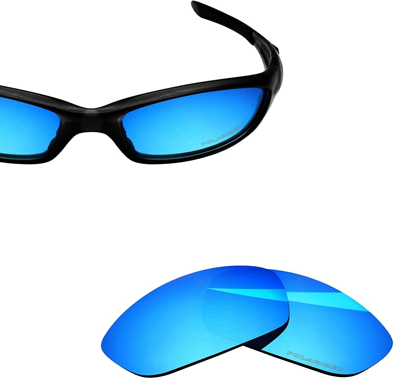 BlazerBuck Anti-salt Polarized Replacement Lenses for Oakley Straight Jacket 2007