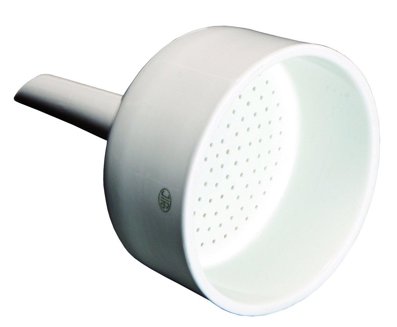 Vee Gee Scientific 53223-7501 Porcelain Buchner Funnel, 116 mm Diameter