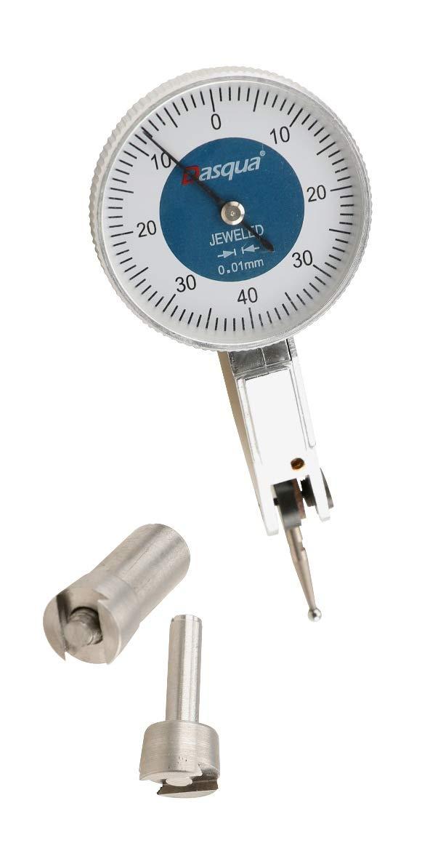 Dasqua 5221-1115 0-1.6mm 0.01mm Double Range Test Indicator