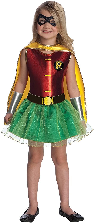 Rubie's Justice League Child's Robin Tutu Dress - Small, Robin Costume