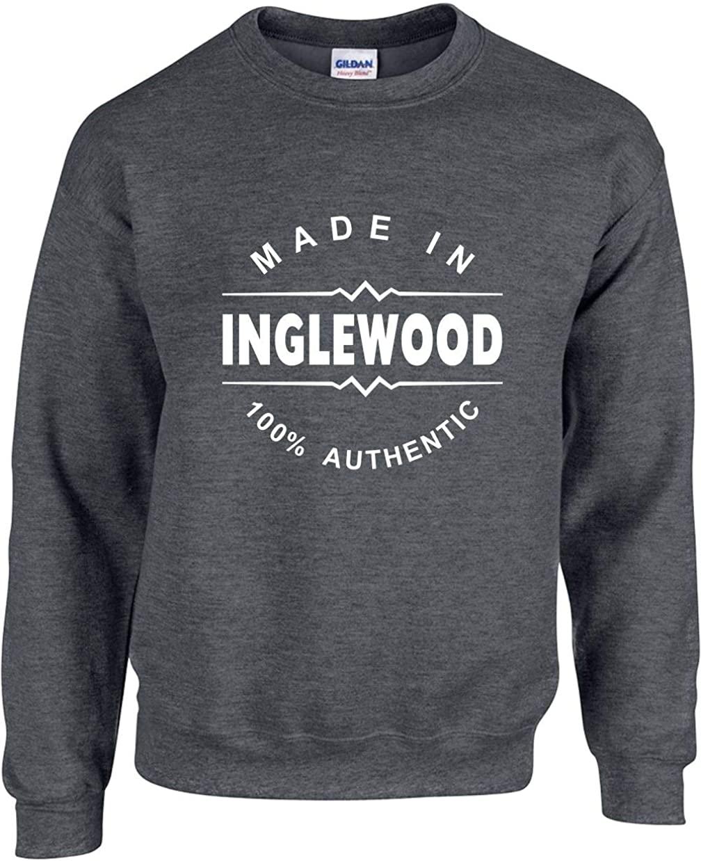 Unisex Adult Crewneck (Made in Inglewood (California, CA) Sweatshirt