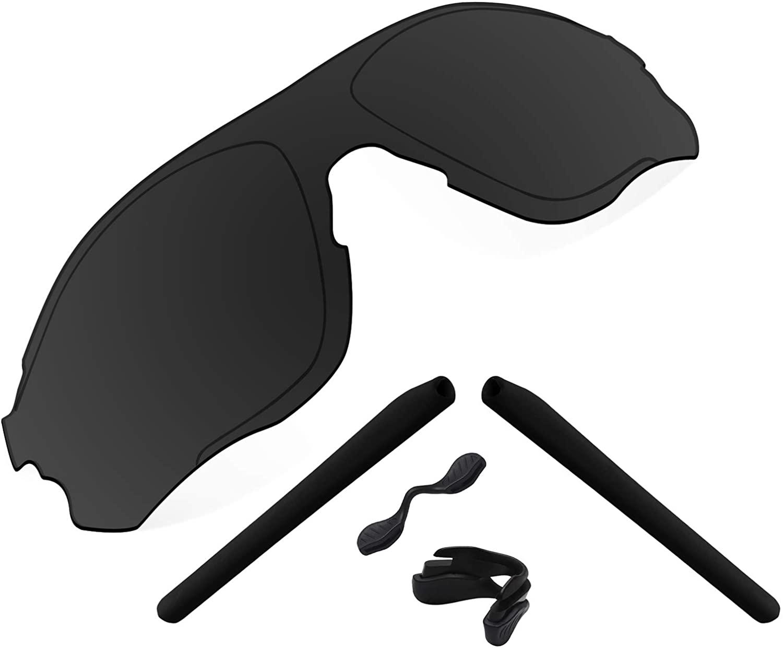 Premium Polarized Replacement Lenses & Rubber Kits Compatible with Oakley EVZero Path Sunglass