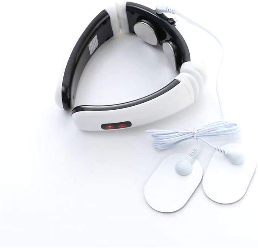 WLIXZ Multifunctional Cervical Massager, Physiotherapy Instrument, Electromagnetic Shock Pulse Cervical