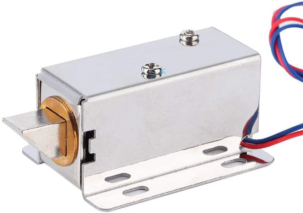 Jimfoty Electromagnetic Lock,DC 12V Mini Electromagnetic Lock Assembly Kit Hardware for Door Window Cabinet Drawer Electric Solenoid Lock Electric Door Lock Solenoid Electric Lock