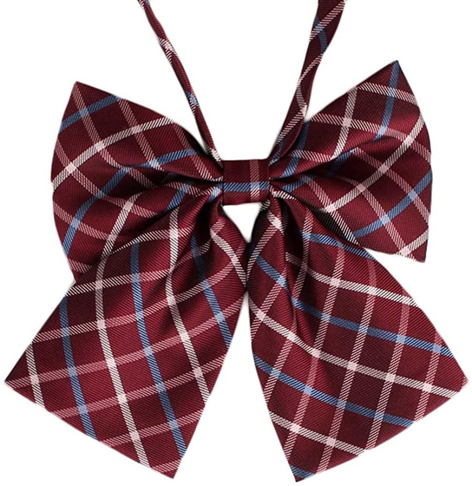 Lovely Sweet School Uniform Bow Tie Waiter Overalls Collar Flower Accessories #13