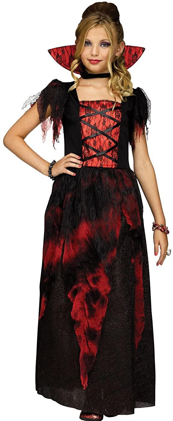 Fun World Countessa Girls Victorian Vampire Halloween Costume