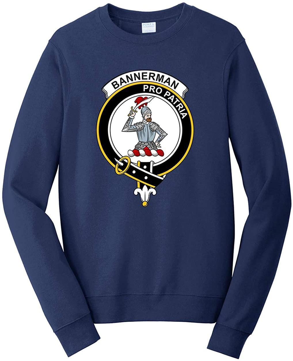 Tenacitee Unisex Scottish Clan Crest Badge Bannerman Sweatshirt