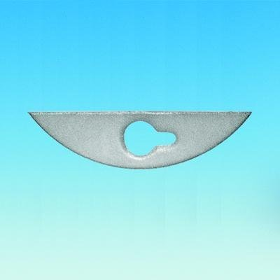 ACE GLASS 8085-19 PTFE Stirrer Blade, 24 mm x 130 mm Size, 10 mm OD Shafts