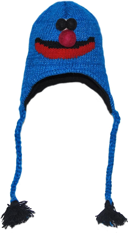 Blue Monster Animal Hat Child