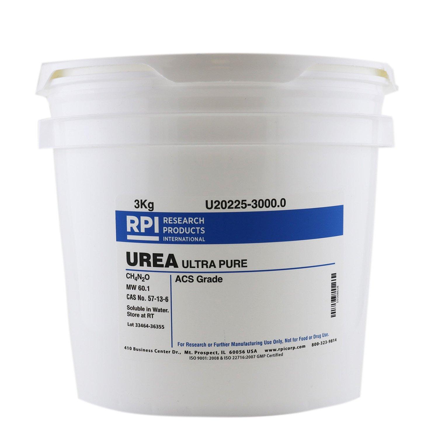 Urea [Carbamide], UltraPure (ACS Grade), 3 Kilograms