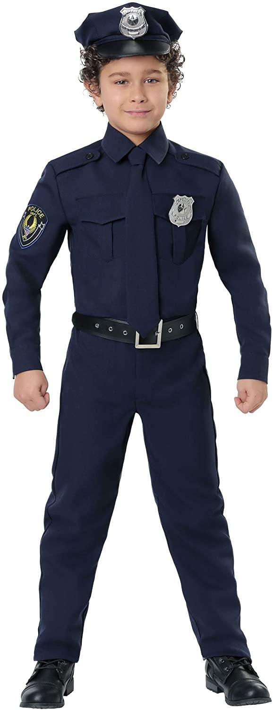 Police Costume for Kids Cop Costume Kids