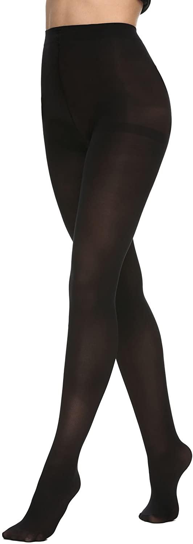 Avidlove Women's Opaque/Sheer Control Top Tights High Waist Stretch Pantyhose