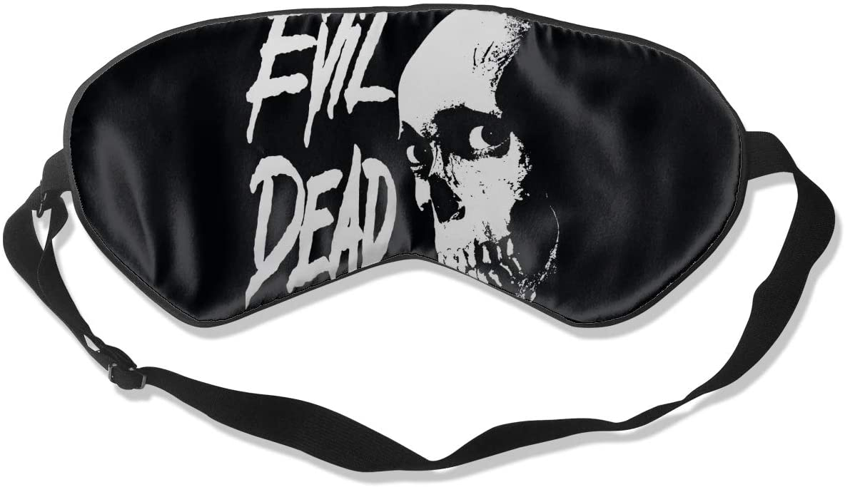 Wehoiweh Evil Dead Iibreathable and Comfortable, Silky Skin-Friendly, Ideal Eye Mask for Dry Eyes