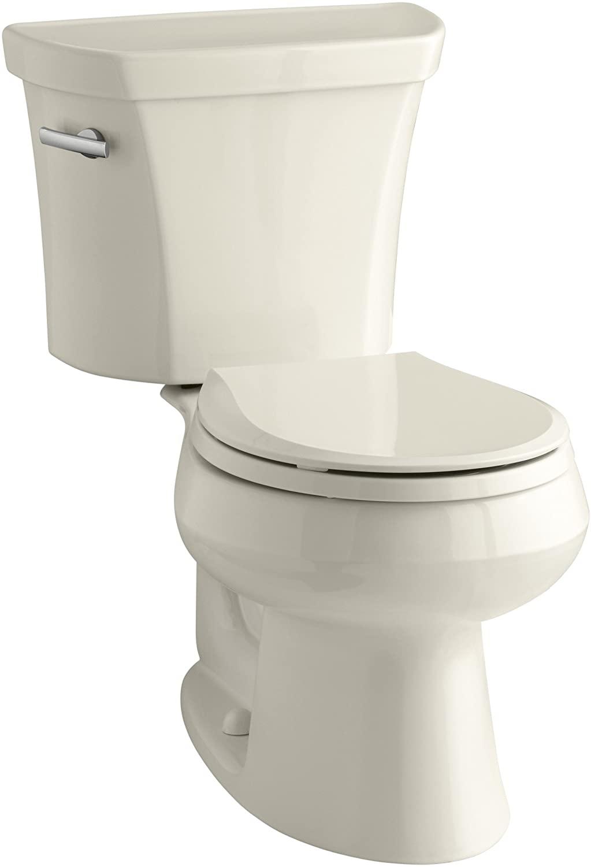 Kohler K-3997-47 Wellworth Toilet, Almond