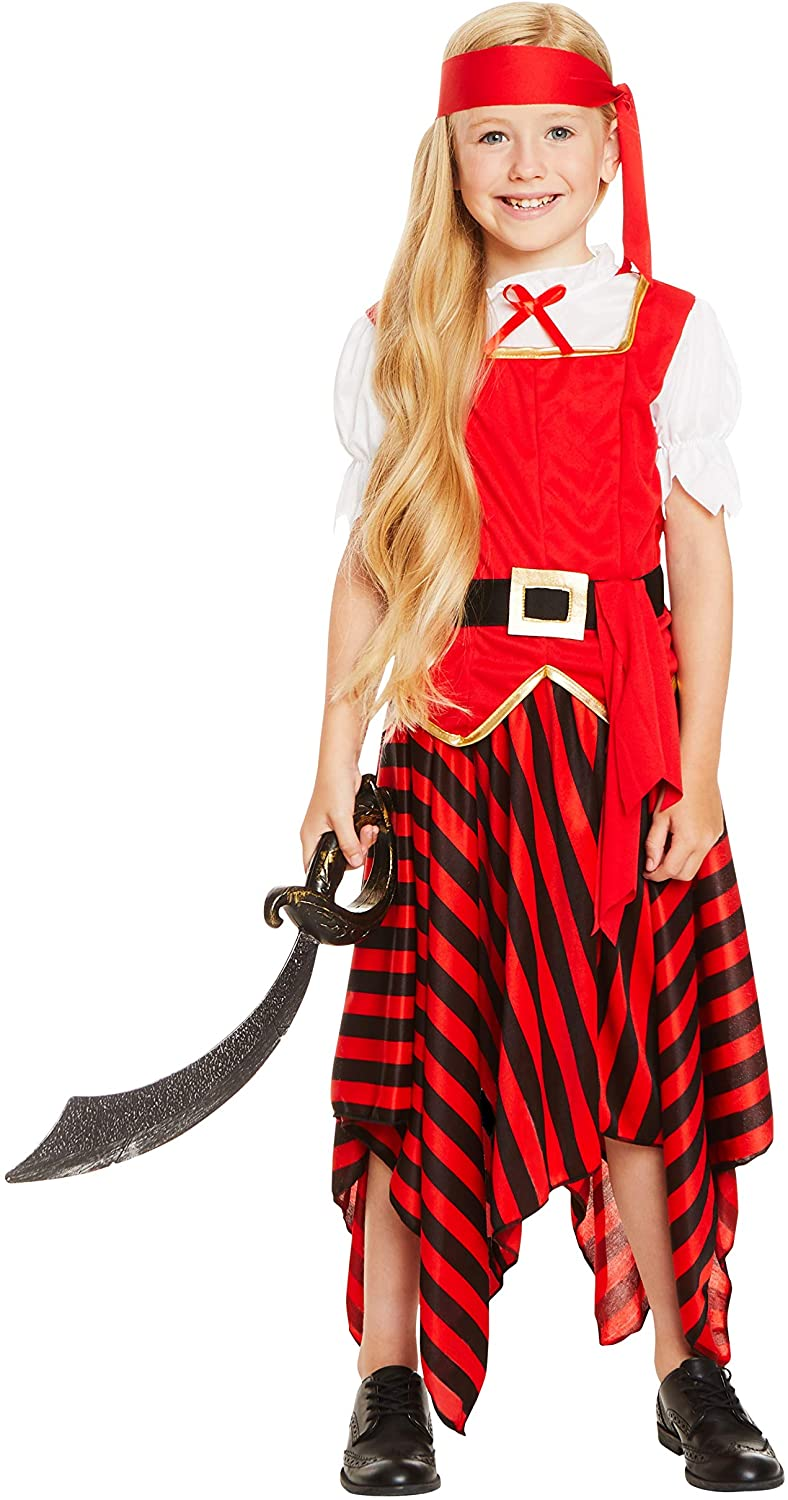 Pirate Girl Costume Large Size
