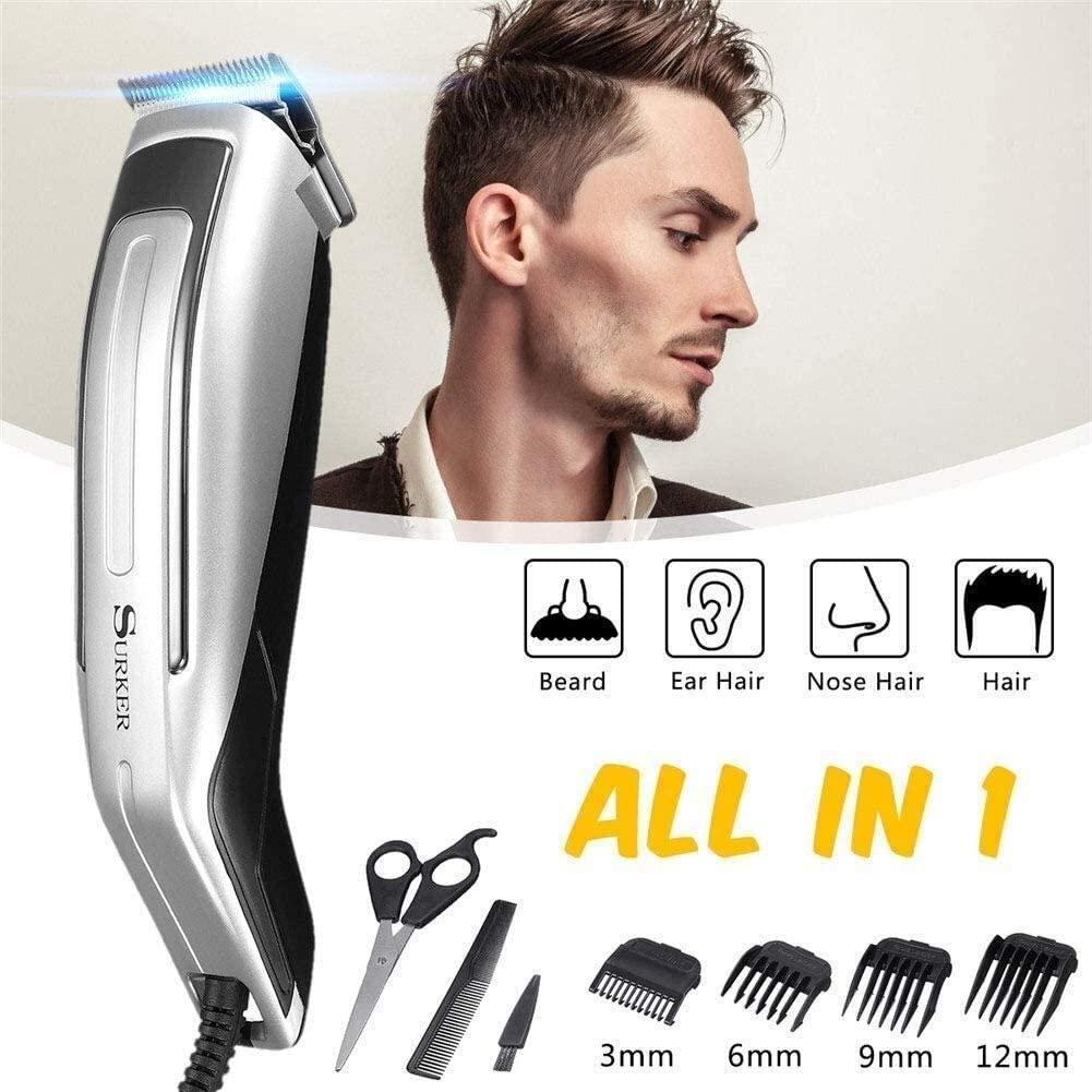 Hair Clippers Set Electric Hair Cutter Hair Trimmer Hair Cutting Men's Beard Razor Machine