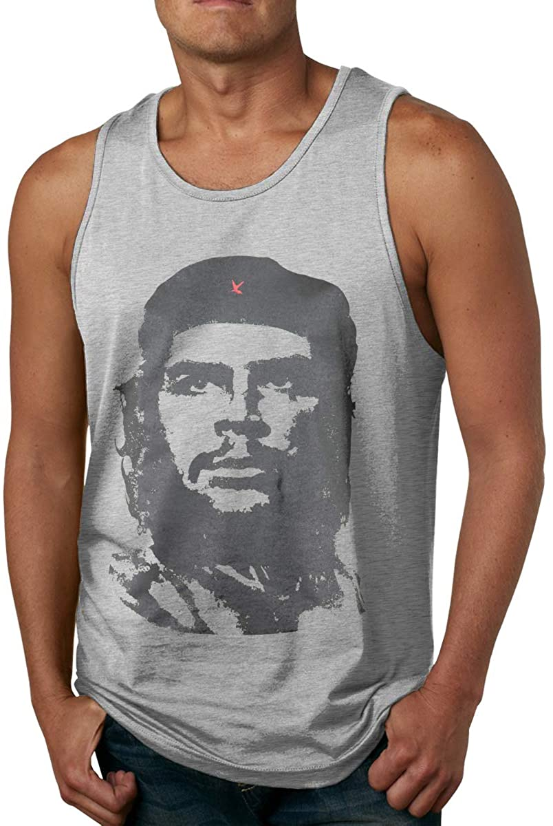 Fuxi Che Guevara Men's Fitness Muscle Tank Top Quick-Drying and Breathable