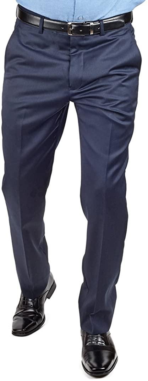 azar Pants (36 Waist, Navy Blue)