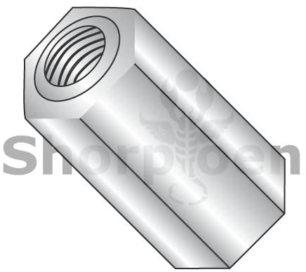 8-32X15/16 Three Eights Hex Standoff Stainless Steel - Box Quantity 100 by Shorpioen BC-371508HF303